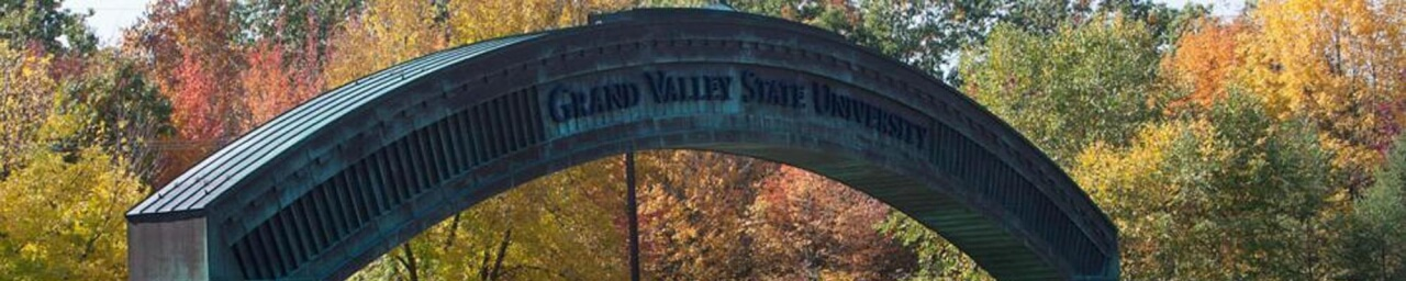 Entrance to Grand Valley State University